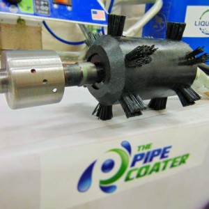 The Pipe Coater Spray Head
