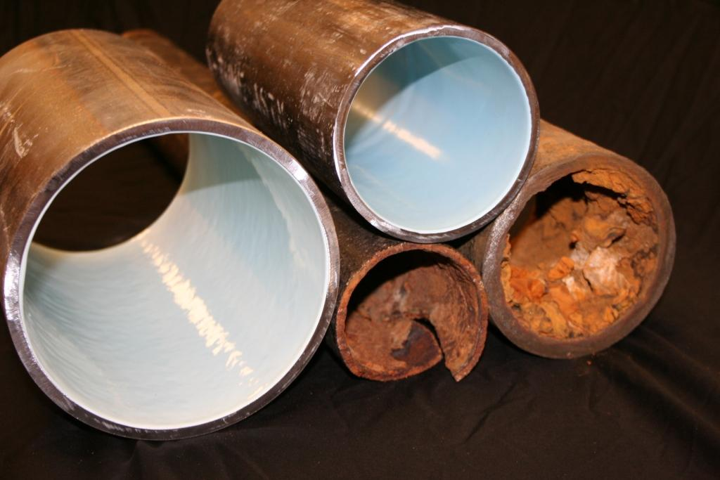 Internal Pipe Coating - Trenchless Technology